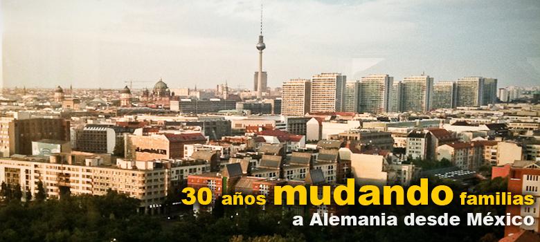 Mudanzas a Alemania desde Mexico
