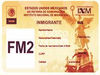VISA FM2-Importación a Mexico